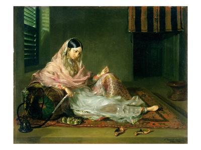 Muslim Lady Reclining, 1789