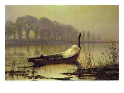 The Lady of Shalott', c.1875