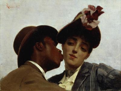 The Kiss, 1887