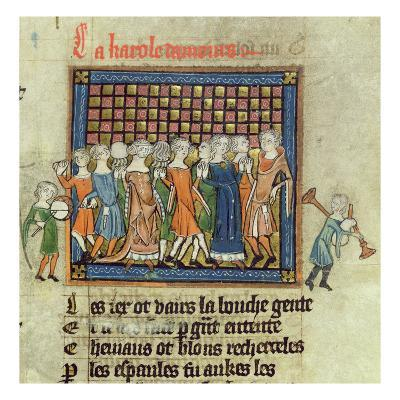 Roy 20 a Xvii F.9 Figures Dancing to Music Played on Tabor and Bagpipes