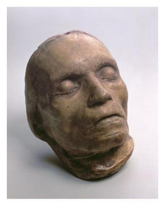 Death Mask of Ludwig Van Beethoven (1770-1827), 1827