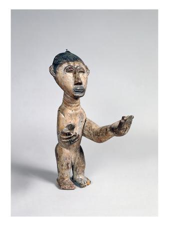 Ashanti Male Statue, Ghana, 18th-20th Century (Wood)