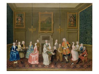 Tea Party at Lord Harrington's House, St. James's