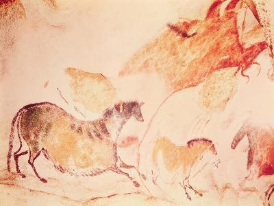 Rock Painting of Horses, C.17000 BC (Cave Painting)