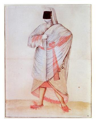 Turkish Woman (Lithograph)