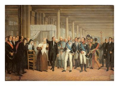 Cataract Operation Performed by Guillaume Dupuytren (1777-1835)