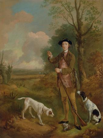 Major John Dade (1726-1811) of Tannington, Suffolk, c.1755