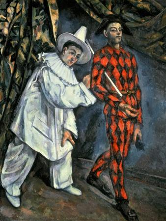 Pierrot and Harlequin (Mardi Gras), 1888