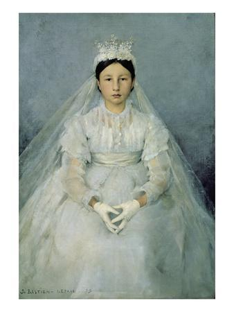 The Young Communicant, 1875