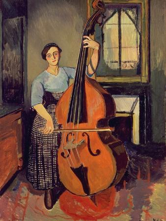 Woman with a Double Bass, 1908