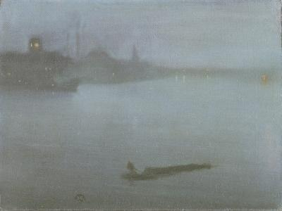 Thames - Nocturne in Blue and Silver, c.1872/8
