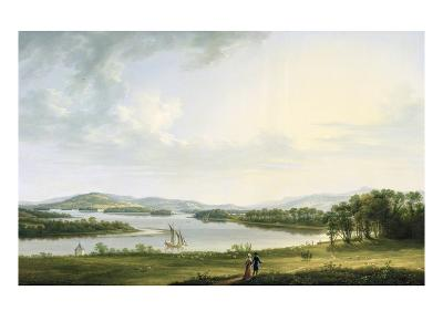 A View of Knock Ninney and Part of Lough Erne from Bellisle, County Fermanagh, 1771