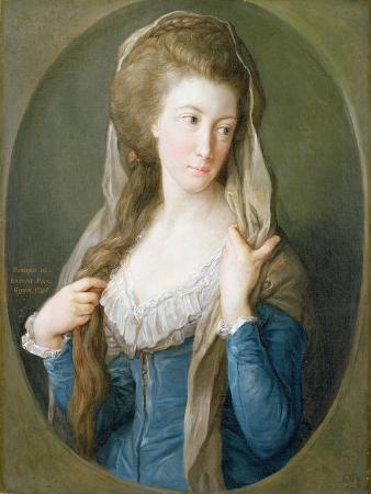 Portrait of a Woman, Traditionally Identified as Margaret Stuart, Lady Hippisley, 1785