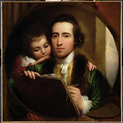 The Artist and His Son Raphael, c.1773