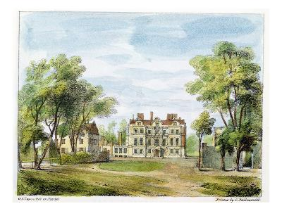 South Front, Old Palace, Kew Gardens, Plate 2
