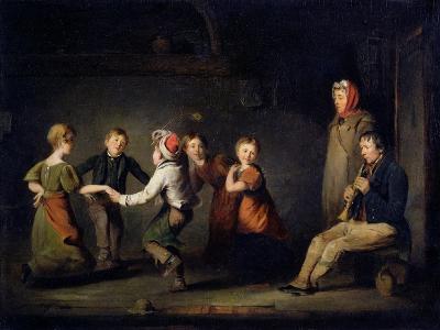 Ring O'Roses, C.1850 (Oil on Panel)