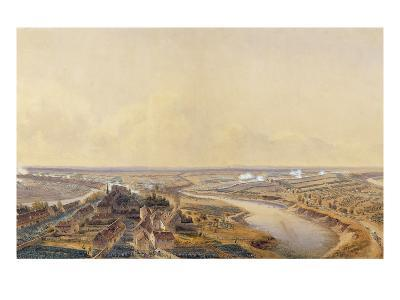 The Battle of Friedland, 14th June 1807 (W/C on Paper)