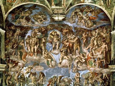 Last Judgement, from the Sistine Chapel, 1538-41 (Fresco)