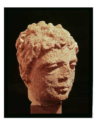 Head of a Divinity (Stone)