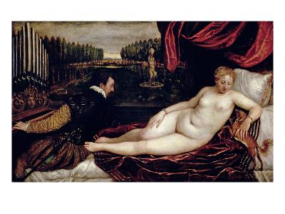 Venus and the Organist, c.1540-50