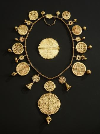 Asante Pectoral, from Ghana (Gold)