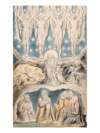 The Creation, Page 14 from 'Illustrations of the Book of Job' after William Blake (1757-1827)