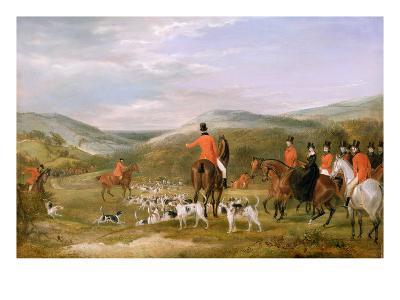The Berkeley Hunt, 1842: the Meet