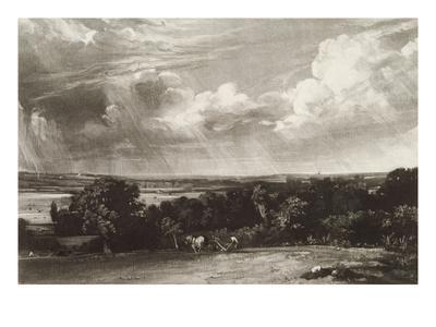 Summerland, Engraved by David Lucas (1802-81) (Mezzotint)