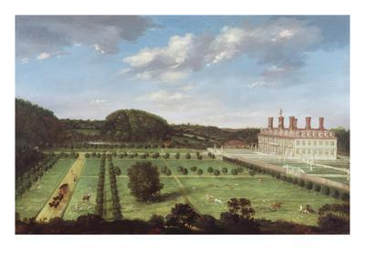 A View of Bayhall, Pembury, Kent, c.1675