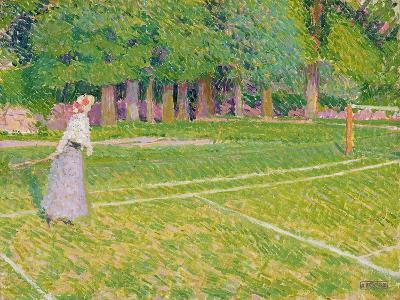Tennis at Hertingfordbury, 1910