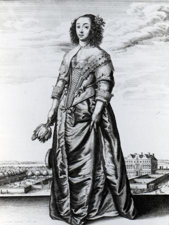 Spring, 1643 (Etching)