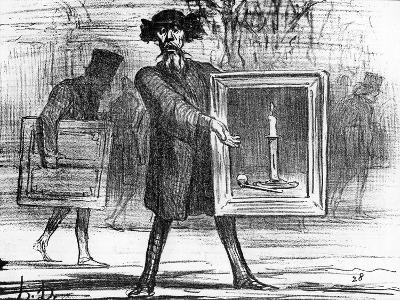 Ignoramuses.......They Have Refused This!', Caricature from 'Charivari' Magazine, 6 April, 1859
