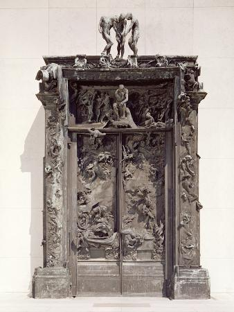 Gates of Hell, C.1890 (Bronze)