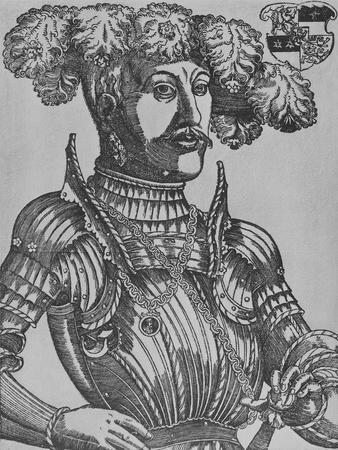 Philip I, Landgrave of Hesse (Woodcut)