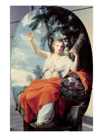 The Muse Urania, 1646-47 (Oil on Panel)