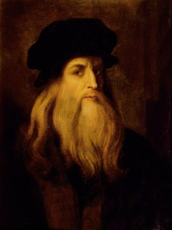 Portrait of a Man, Presumed to Be Leonardo Da Vinci