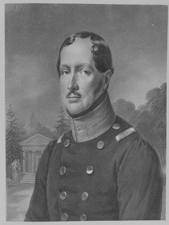 Friedrich Wilhelm Iii, King of Prussia (Engraving)