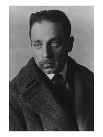 Rainer Maria Rilke (B/W Photo)