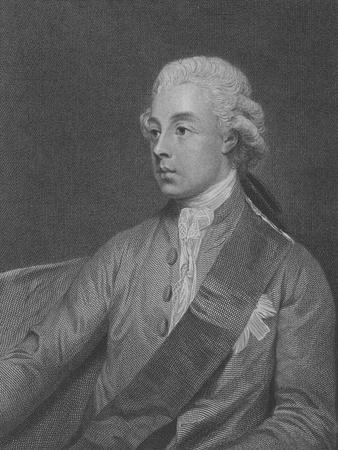 Frederick Howard, 5th Earl of Carlisle, Engraved by John Keyse Sherwin, 1782 (Engraving)
