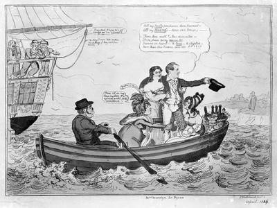 Fare Thee Well, C.1816 (Engraving)