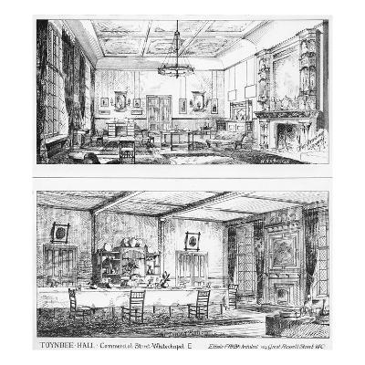 Interior of Toynbee Hall (Litho)