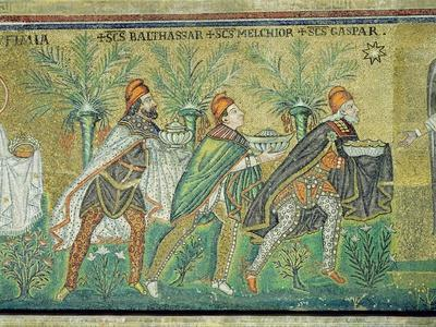 The Procession of the Three Kings (Mosaic)