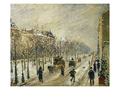 The Boulevards under Snow, 1879