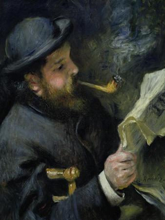 Claude Monet (1840-1926) Reading a Newspaper, 1872