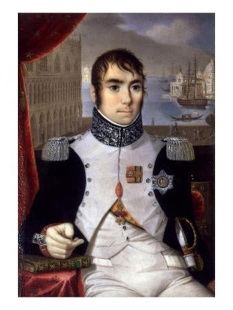 Portrait of Eugene De Beauharnais (1781-1824) Viceroy of Italy in 1805