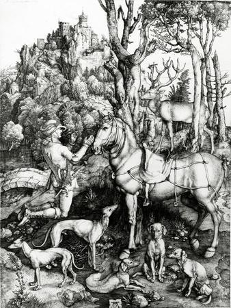 St. Eustace, 1501 (Engraving)
