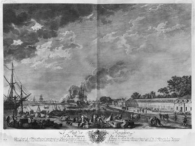 Port of Rochefort, Seen from the Colonies' Store, Series of 'Les Ports De France'