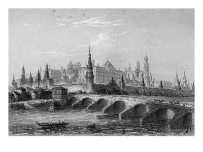 The Kremlin, Moscow (Engraving)