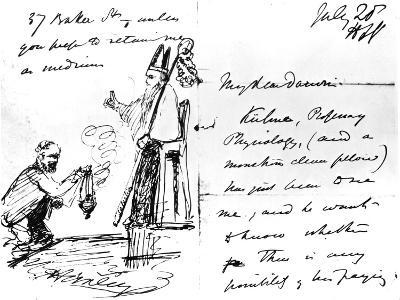 A Letter from Thomas Henry Huxley to Charles Darwin, with a Sketch of Darwin as a Bishop or Saint
