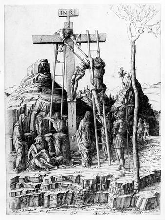 The Descent from the Cross (Engraving)